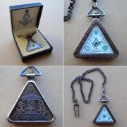 Masonic Pocket Watch - Jewels of Masonic / Scottish Rites